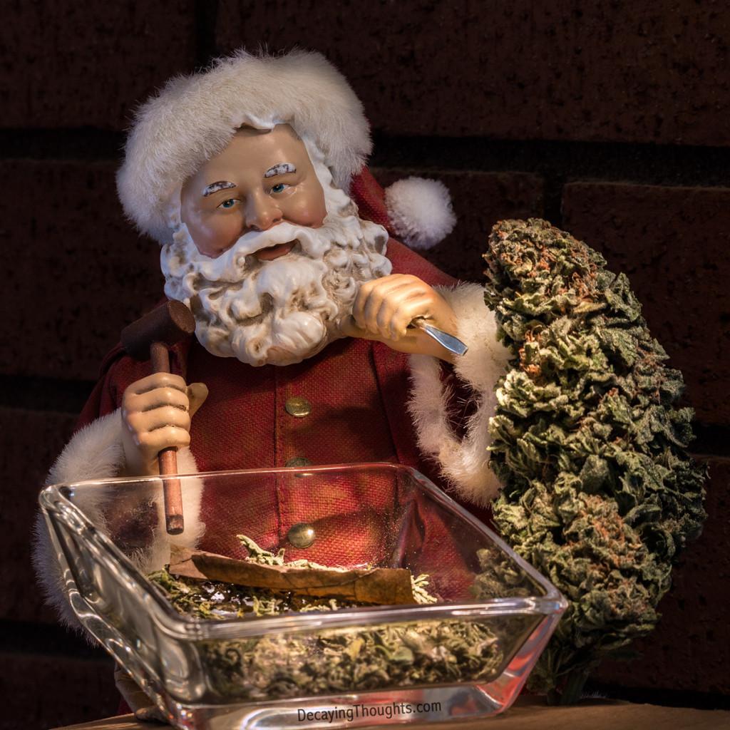Santa with ha